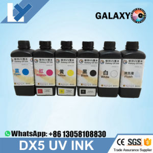 Wholesales Printhead UV Ink 5 Color C M Y K W 1000ml Galaxy For Dx5 Made In Japan