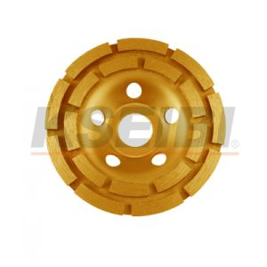 Kseibi Double Row Type Diamond Wheel Cup Wheel