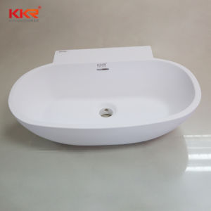 Modern Stone Sanitary Ware Bathroom Wall Hang Wash Basin pictures & photos