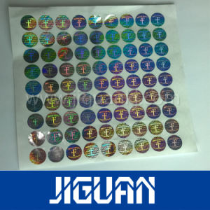 Custom Waterproof Adhesive Printable Anti-Fake Hologram Sticker pictures & photos