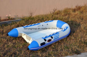Liya 3m-4m 40HP Fiberglass Bottom Boat for Sale Rib Boat Price pictures & photos