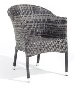 All-Weather Wicker Bistro Chair (BZ-CR004)