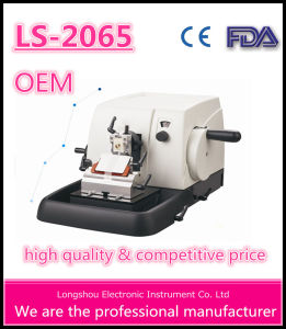 Longshou Pathological Rotary Microtome Ls-2065 pictures & photos