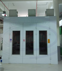 Customized Spray Paint Booth For Car With Inner Ramp