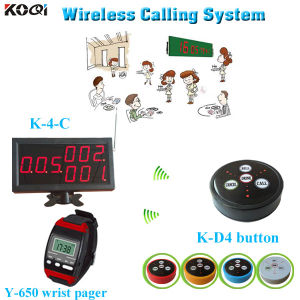 Restaurant Calling Bell System Wireless Monitoring Equipment for Restaurant pictures & photos