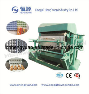 Recycling Waste Paper Egg Tray Making Machine with CE