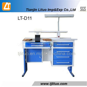 Two Person Dental Work Bench/Dental Lab Workstation pictures & photos