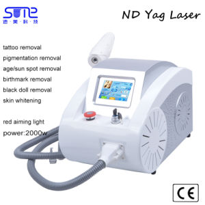ND YAG Laser Tattoo Removal Machine Beauty Salon Equipment Price pictures & photos