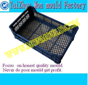 Plastic Mould for Fruit/Milk/Peach Packing Crate, Storage Crate