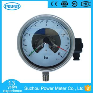 150mm All Stainless Steel Electric Contact Manometer pictures & photos