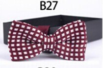 New Design Fashion Men′s Knitted Bowtie (B27) pictures & photos
