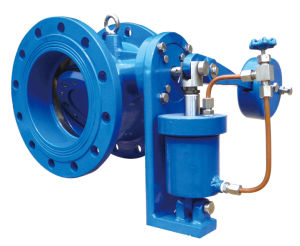 Double Flange Tilting Check Valve with Damper pictures & photos