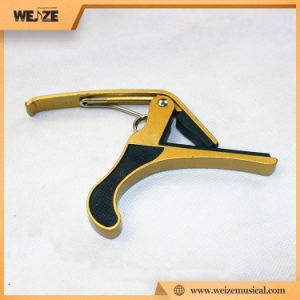 Economic Guitar Metal Capo Which Equally Applies to Ukulel and Violin pictures & photos