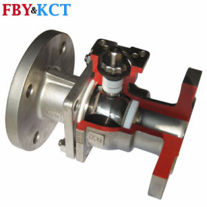2PCS GB and ANSI Standard Flanged End Ball Valve
