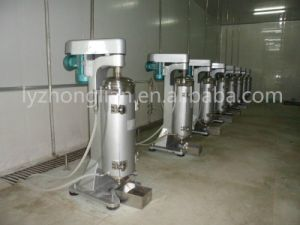 Gq105j High Quality High Speed Liquid Solid Separation Tubular Centrifuge pictures & photos