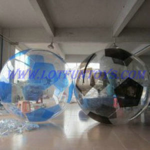 Inflatable Walking on Water Ball / Soccer Shape Water Bubble
