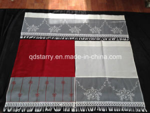 Voile Kitchen Curtain pictures & photos