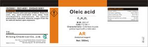Oleic Acid, Lab Grade, 112-80-1 pictures & photos