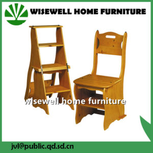 Convertible 3 Step Library Ladder Chair