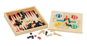Wooden Educational Toy and Game Backgamon (CB2246) pictures & photos