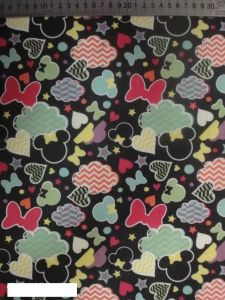 Mickey Cartoon Printing Polyester 600d Fabric for Bags! pictures & photos