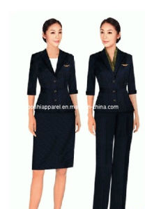 Different Style Fashionable Hotel Uniforms for Women Hu-35 pictures & photos