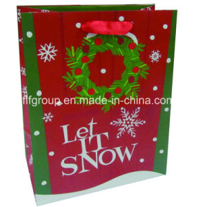 Printed Gift Packaging Christmas Paper Bag pictures & photos