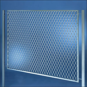 Galvanized Security Expanded Metal Gates