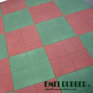 Outdoor Playground Rubber Floor Mat for Children pictures & photos