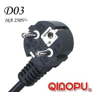 Europe Schuko Power Plug (D03)