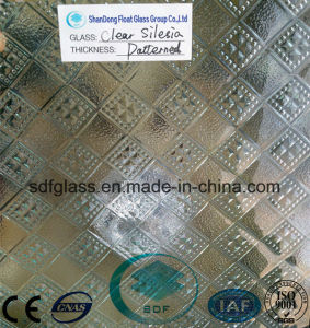 Clear Silesia Patterned Glass with Ce, ISO (3 TO 8mm)