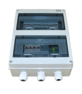 Economical Small PV Combiner Box with 4 in 1 out for 400V System pictures & photos