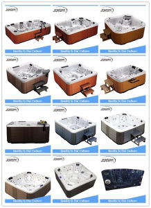 Jy8012 SPA Equipment Outdoor Massage Hot Tub pictures & photos