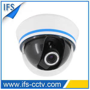 Plastic 4′′ Color Dome CCTV Camera with 3D Bracket (IDC-270)
