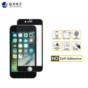 timeless design d3536 b50f4 Good Price Glass Screen Protector Full Cover for iPhone 7, iPhone 7 Plus  Black/White with Crystal Box and High Quality