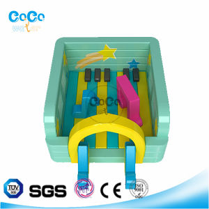 Cocowater Design Music Theme Inflatable Bouncer LG9020