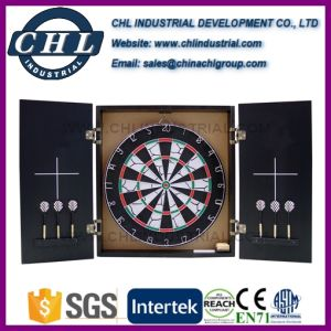 Customized Logo Printing Mfd Score Dart Board with Darts pictures & photos