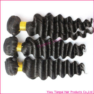 Wholesale 7A Grade Virgin Brazilian Deep Wave Human Hair Extension
