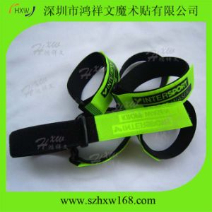 Custom Fluorescent Color Hook & Loop Strap HXW-C081