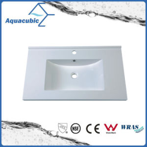 Sanitaryware Polymarble Table Top Basin Bathroom Sink Acb0809 pictures & photos