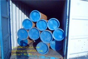 Black Steel Seamless Pipes Sch40 ASTM A106, ASTM A106 Sch40 Sch80 Pipe pictures & photos