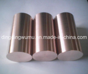 Mould Press Wcu Round Bar Electrode for EDM and ERW pictures & photos