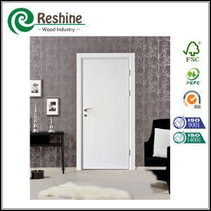 China Hdf White Primer Plain Solid Wood Doors China Plain Doors Wood Doors