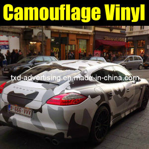 China Hot High Quality Camo Vinyl Wrap Car Camouflage Film