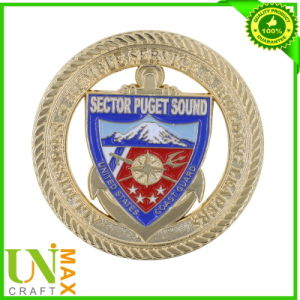 2014 Personalized Gold Souvenir Metal Military Navy Challenge Coin