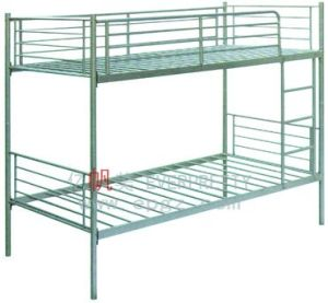 Dormitory Furniture Steel Frame Bunk Bed for Student pictures & photos