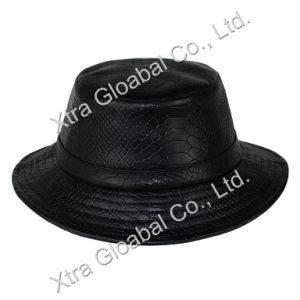 China Fashion Snakeskin Leather Hat Bucket Hats - China Baseball Cap ... 22d569b0c4a