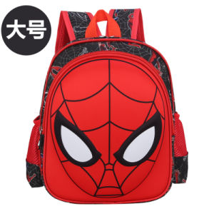 eaac84751a China Kids Boys Backpack Elementary School Book Bag Spiderman Face ...