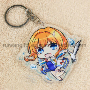 Anime Acrylic Plastic Keychain with Design Custom Made