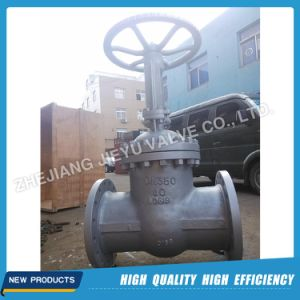 DIN Pn40 Dn250 Gear Operated Gate Valve pictures & photos
